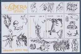 350 Ans De L'Opéra National De Paris, Moderne Depuis 1669, Bloc F5353 Oblitéré 2 Timbres 1.30€ (5353 5354) - Usati