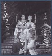 Bloc F5362 Acteurs Actrices J-Louis Barrault Jean Desailly Simone Valère Madeleine Renaud Oblitéré 5362 5363 5364 5365 - Usati
