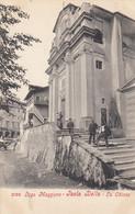 ISOLA BELLA-VERBANO CUSIO OSSOLA-LAGO MAGGIORE-LA CHIESA-BELLA CARTOLINA NON VIAGGIATA-ANNO 1900-1904 - Verbania