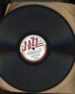 78T DISQUE (25 Cm) JAZZ COLLECTION BECHET-NICHOLAS BLUE FIVE - QUINCY STREER STOMP & WEARY WAY BLUES - 78 G - Dischi Per Fonografi