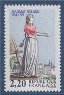 Personnages Célèbres De La Révolution N°2593 Neuf Madame Roland - Neufs