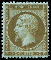 * EMPIRE DENTELE - 19b   1c. MORDORE, TB - 1862 Napoleon III