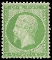 ** EMPIRE DENTELE - 20    5c. Vert, Bon Centrage, Frais Et TTB - 1862 Napoleon III