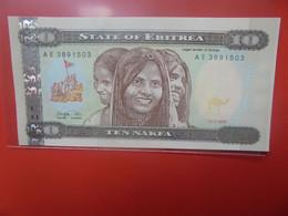 ERYTHREE 10 NAFKA 1997 Peu Circuler (B.21) - Eritrea