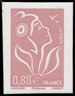 ** VARIETES - 4155b  Lamouche, 0,88 Lilas-brun Clair, NON DENTELE, TB - Abarten: 2000-09 Ungebraucht