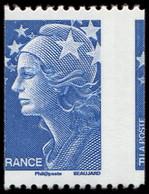 ** VARIETES - 4241   Beaujard, TVP Bleu Pour Roulette, Piquage A CHEVAL Latéral, TB - Abarten: 2000-09 Ungebraucht