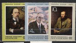 URSS - 1971 - N. 3744/46** - N. 3754** (CATALOGO UNIFICATO) - Neufs