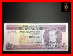 BARBADOS 20 $  1973  P. 34   VF - Barbados