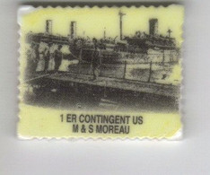 1er CONTINGENT  US  St Nazaire - Geschiedenis
