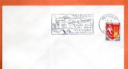 MEYRUEIS   SES GROTTES  1964 Lettre Entière N° PQ 671 - Mechanical Postmarks (Advertisement)