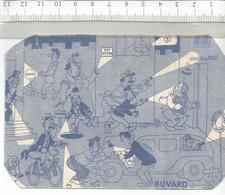 CE /  Vintage French Blotter / Buvard Ancien // RARE BUVARD PETIT FORMAT !! DESSIN ANIMEE PUB / Etat Voir Scan - Kids