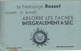 CE /  Vintage French Blotter / Buvard Ancien // BUVARD Ancien Thème Nettoyage ROSSEL TACHES A SEC - N
