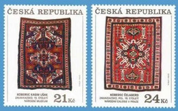 Czechia 2010, Carpets From Nagorno-Karabakh, MNH Stamps Set - Ungebraucht