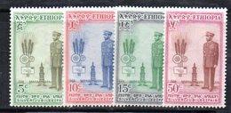 ETP264 - ETIOPIA 1955 , Serie  Yvert  N. 339/342  ***  MNH . Giubileo - Etiopia