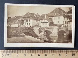Payerne Suisse VD/ Ancien Pont/ Demolé à 1868/ Photo Aus Dieser Zeit Von Captain Daxelhofer - Anciennes (Av. 1900)