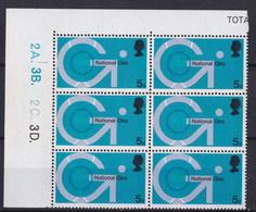 SG 808 - Plate - MNH *** - Unused Stamps