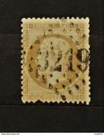 11 - 20 // France N° 21 - Oblitération GC 3219 - Rouen - 1862 Napoleon III