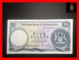 SCOTLAND 5 £  17.12.1986 P. 342  RBS   UNC - 5 Pounds