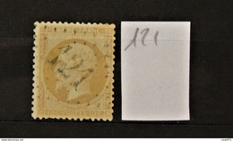 11 - 20 // France N° 21 - Oblitération GC 121 - Anzin - Nord - 1862 Napoleon III