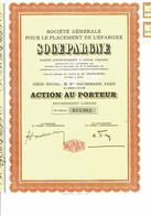75-SOGEPARGNE. Sté Gle Pour Le Placement De L'Epargne. - Other