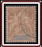 Diégo-Suarez - N° 33 (YT) N° 33 (AM) Oblitéré. - Used Stamps