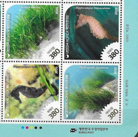 SOUTH KOREA, 2020, MNH, MARINE LIFE, SEAHORSES, 4v - Meereswelt