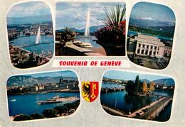 CPSM Souvenir De Genéve-Multivues    L57 - GE Genève