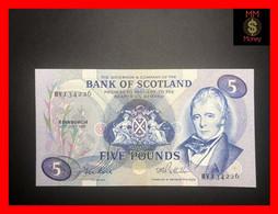 SCOTLAND 5 £  27.7.1981  P. 112  BoS   AU \ UNC - 5 Pounds