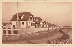 CARTE POSTALE ORIGINALE ANCIENNE : WITTELSHEIM LES OUVRIERES MINE AMELIE POTASSE HAUT RHIN (68) - Autres Communes