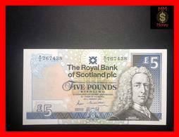 SCOTLAND 5 £  25.3.1987  P. 347  RBS  Large Size  AU \ UNC - 5 Pounds