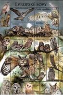 Czechia 2015, Owls, MNH Stamps Set - Ungebraucht