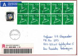 Kristiansand 2001 - Norwegen Erfindung Spraydosen [Ozonloch] - Krokus - Reco - Umweltverschmutzung