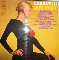 Disque Vinyle 33t – CARAVELLI – Love Story - Otros - Canción Francesa