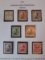 1931 España Republica Locales Almeria 1/8* MH Sobrecarga - Marquilla Roig Y Kritikian -Spain Republic Espagne Republique - Unclassified
