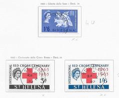 94760) SANT'ELENA-LOTTO DI FRANCOBOLLI- 1965  ELISABETTA II-USATI - Otros