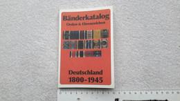 Bänderkatalog Orden & Ehrenzeichen Deutschland 1800 - 1945 Bandspange Spange - Catalogues