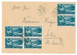 CIP 17 - 205-a MEDIAS - Cover - Used - 1947 - Covers & Documents