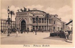 B4219 - Palermo, Piazza Politeama Garibaldi Animata, Non Viaggiata - Palermo