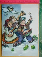KOV 8-300 - New Year, Bonne Annee, Children, Enfant, Orchestre De Musique - Anno Nuovo