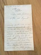 1914-1918  - Seelenfeld  Lettre Du Prisonnier Ernest VITRANT à Son épouse -  Août 1916 - 1914-18