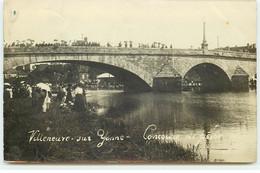 Carte Photo - VILLENEUVE-SUR-YONNE - Concours De Pêche - Villeneuve-sur-Yonne