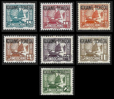 KOUANG TCHEOU  1937-   Y&T  97 à 103  -  NEUF S - Ungebraucht