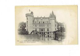Cpa - 86 - Les Trois Moutiers - Le Château De La Motte Chandenier -  D-B - - Otros Municipios