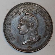 Union Centro Américana - 1 Centavo - 1889 - Rare !! - Guatemala
