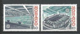 MONACO ANNEE 1987 N° 1565 1566 NEUFS** NMH - Nuovi