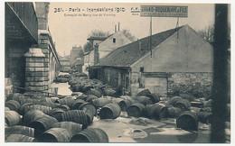 CPA - PARIS - Inondations De 1910 - Entrepôt De Bercy, Rue De Vouvray - De Overstroming Van 1910