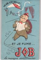 JOB - CARNET PUBLICITAIRE ANCIEN- PAPIER A CIGARETTE - Advertising