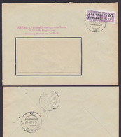 MAGDEBURG ZKD-Brief B11(7000) Funk- U. Fernmeldeanlagenbau, Germany East - Service