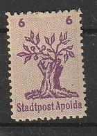 Deutsche Lokalausgaben . Apolda. N 2II* - Soviet Zone