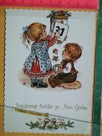 KOV 8-305 - New Year, Bonne Annee, Children, Enfant, Champignon, Mushroom - Anno Nuovo